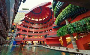 trại hè Nhật Bản 2019, Thăm quan trung tâm thương mại Hakata