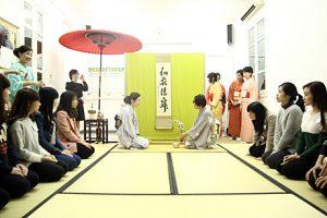"""Trại hè Nhật bản 2019, Trải nghiệm văn hóa """"Trà Đạo Nhật Bản"""""""