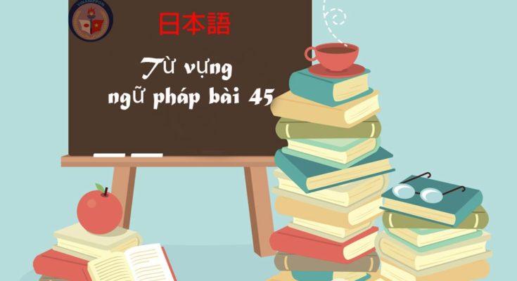 tu-vung-va-ngu-phap-bai-45